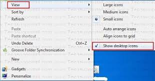 Showing Desk Web Edition Solved Desktop Icons Are Not Showing Icons Disappeared Or Missing