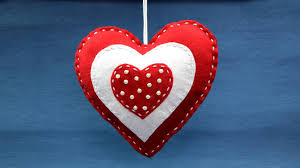 Homemade Valentine Decorations Ideas by Valentine Crafts Diy Valentine Decoration Ideas Felt Heart