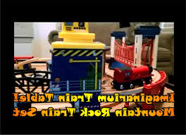 mountain rock train table metropolis train set and table luxury imaginarium train table