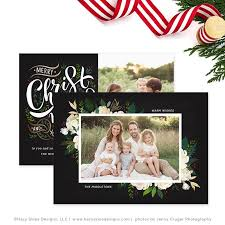 christmas photo card christmas card template for photographers