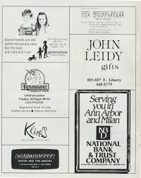 Madeline Leidy Ann Arbor Civic Theatre Program The Diviners March 14 1984