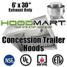 food trailer exhaust fans 13 best concession trailer hood images on pinterest concession