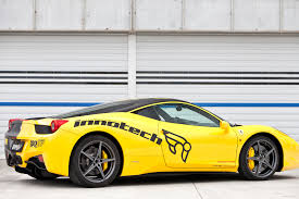 ferrari yellow 458 innotech performance exhaust ferrari 458 italia spider evolution