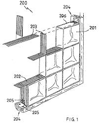 patent ep1127993b1 a glass brick wall google patents