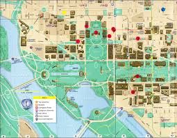 big washington dc map palmer author