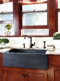 granite composite farmhouse sink kitchen sinks faucets