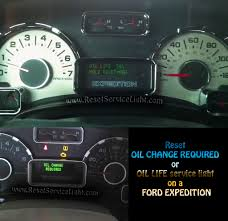 reset oil service light ford expedition u2013 reset service light