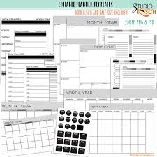 free resume template 2017 download monthly calendar editable planner pages templates printable 8 5x11 half size