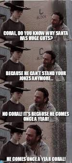 Carl Walking Dead Meme - coral carl walking dead meme on memegen