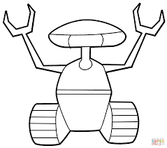 robot coloring pages exprimartdesign com