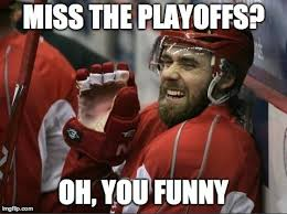Red Wings Meme - 23 straight playoff appearances for the detroit red wings not the