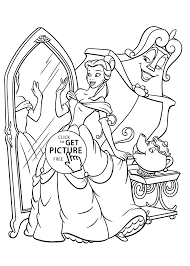 beauty dressing coloring pages for kids printable free