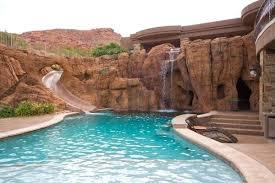 rock waterfalls for pools pool rock waterfalls cascades complete swimming pool waterfall kit