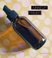 make up primer u0026 finishing spray