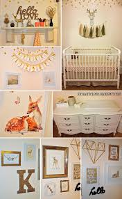 Blush Crib Bedding by Finding Beauty In Life Blush Pink And Gold Baby Deer Fawn