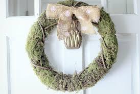diy wreaths diy moss wreath evite
