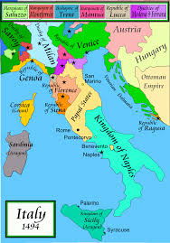 Map Of Tuscany Italy Italian War Of 1494 U201398 Wikipedia