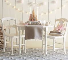 White Kids Table And Chair Set - finley play table pottery barn kids