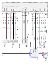 radio wiring harness diagram on 2001 ford f150 radio replacement