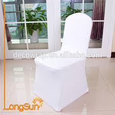 couvre chaise mariage blanc couvre spandex lycra couverture de chaise de mariage banquet