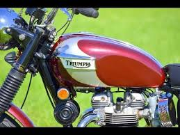 triumph bonneville t120r 1970 new painting youtube