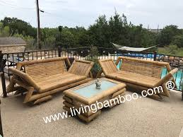 Outdoor Pool Furniture by Bamboo Furniture Bamboo Bed Bamboo Outdoor Furniture Bamboo