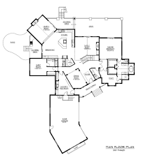 Large Ranch Home Floor Plans by Monster House Plans Ranch 8313