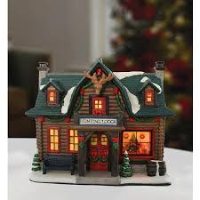 Snoopy Christmas Decorations Walmart by Holiday Time Porcelain Hunting Lodge Christmas Decoration Diy