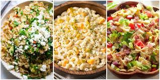 easy cold pasta salad 44 summer pasta salad recipes easy ideas for cold pasta salad