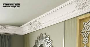 Contemporary Cornice Plaster Cornice Top Ceiling Cornice And Coving Of Plaster And