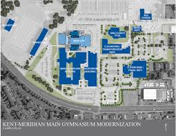 facility construction km gym remodel site plan
