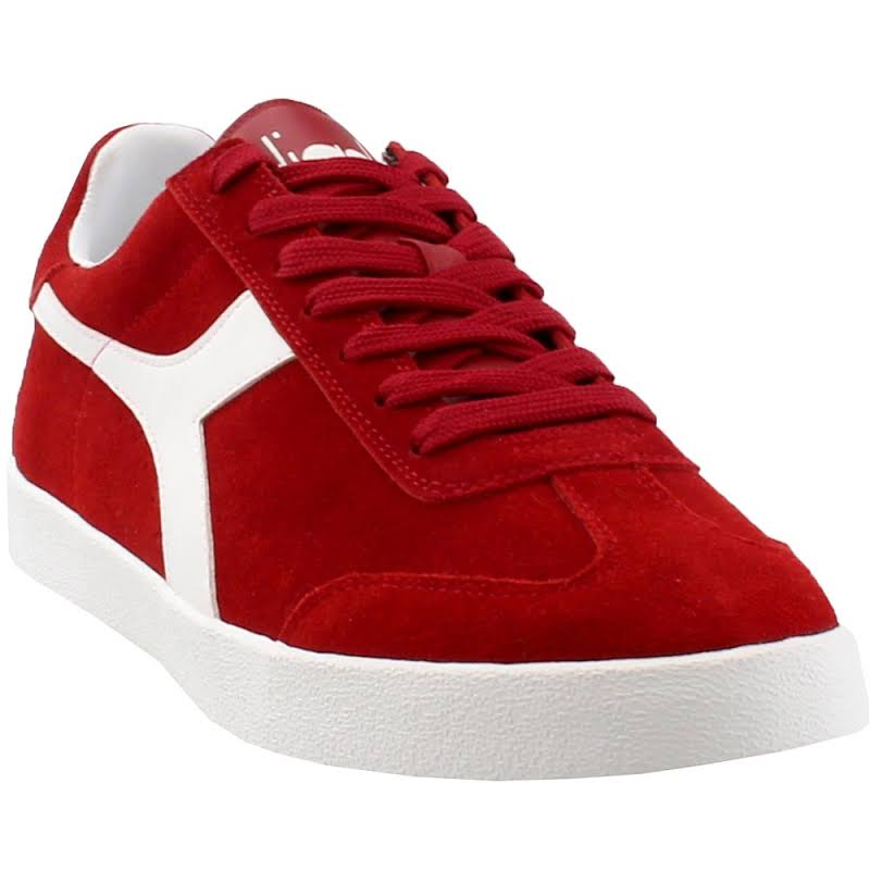 Diadora Pitch Sneakers Red- Mens