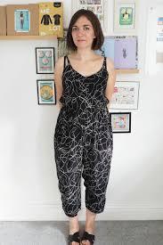 jumpsuit stitching pattern vintage patterns what katie sews