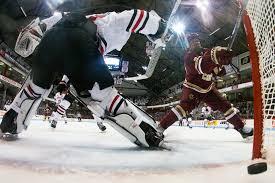 bentley college hockey woll named to richter award watch list boston college athletics