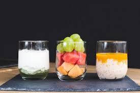 cuisine de perle fromage blanc au coulis d aloé vera salade de fruits frais perle