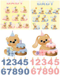 design your own happy birthday cards http www mediafire com p37cz6n7uio74pv 4 sets with vector baby