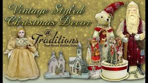 vintage christmas decorations youtube