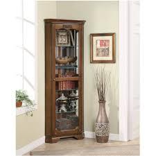 Corner Cabinet Black Kitchen Room Marvelous Hanging Curio Cabinet Pulaski Narrow