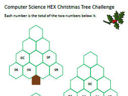computer science christmas worksheet number puzzles in binary