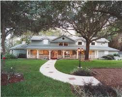 houses contempo front porch ranch style home design ideas using