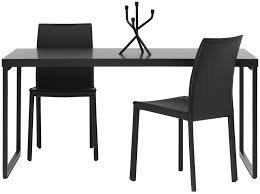 Modern Dining Table Contemporary Dining Table Mdf Steel Rectangular Lugo