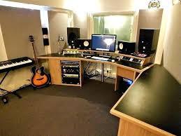 Diy Recording Desk Home Recording Desk Studio Sets Ideas Diy Interque Co