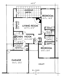 southwest floor plans adobe southwestern style house plan 2 beds 2 baths 1300 sq ft