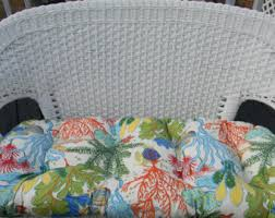 Cushions For Wicker Settee Settee Cushion Etsy