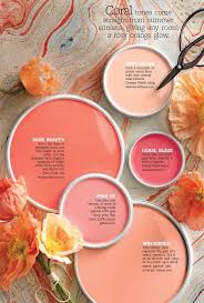 coral paints paint colors in real spaces pinterest pink