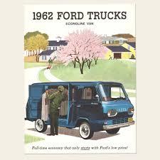 Old Ford Truck Brochures - 1962 ford econoline trucks brochure u2013 oldcuts