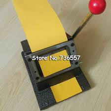 business card die cutter shop 86 54mm corner all metal pvc card die cutter