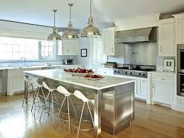stainless kitchen island stainless steel kitchen island with marble top stainless kitchen