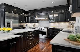 black bottom and white top kitchen cabinets white top and black bottom kitchen cabinets modern design