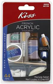 amazon com kiss acrylic sculpture kit 2 packs nail decorations